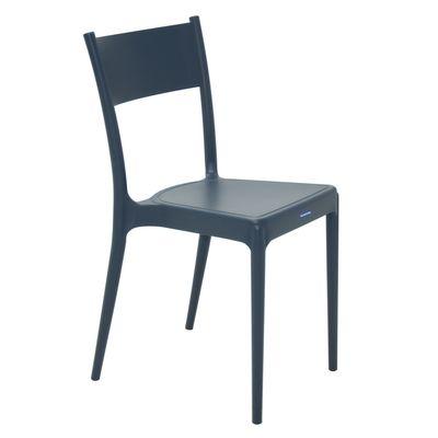 Cadeira Tramontina Diana Azul em Polipropileno e Fibra de Vidro