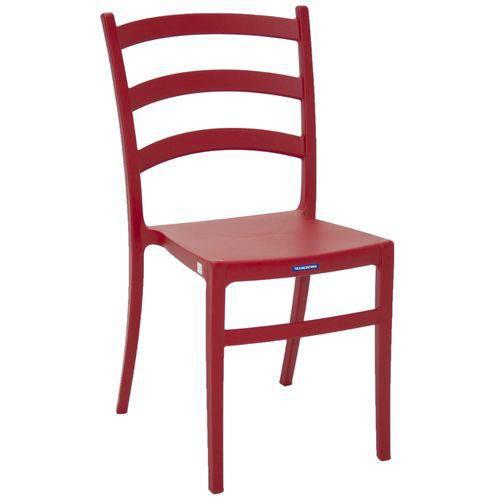 Cadeira Tramontina Nádia - Vermelho