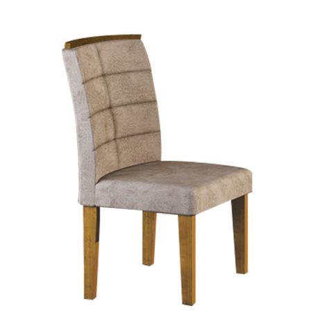 Cadeira Villa Rica - Ypê com Tecido 84B