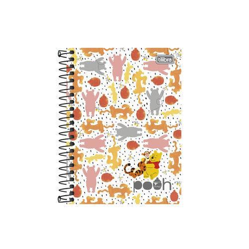 Caderneta 1/8 C.D. 96 Folhas Tilibra - Pooh 3