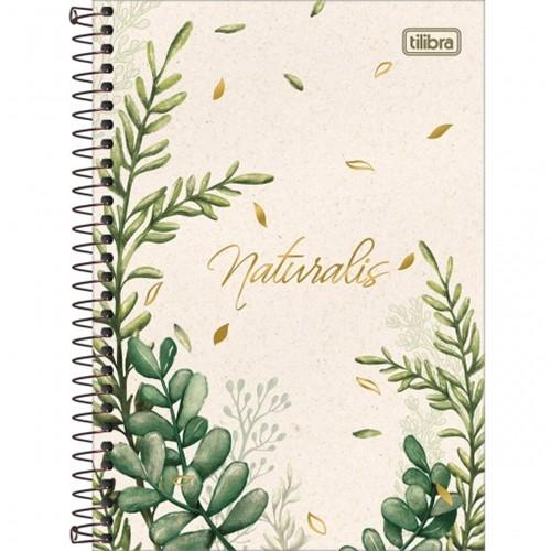 Caderneta Espiral Capa Dura 1/4 Naturalis 80 Folhas (Pacote com 4 Unidades) - Sortido