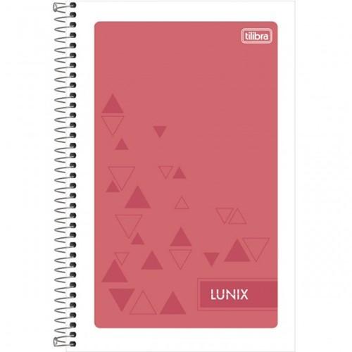Caderneta Espiral Capa Flexível 1/8 Lunix 48 Folhas - Sortido (Pacote com 25 Unidades)