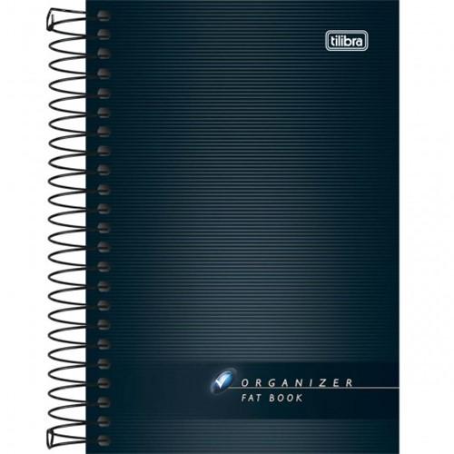 Caderneta Espiral Capa Flexível Fat Book Organizer 200 Folhas 114618