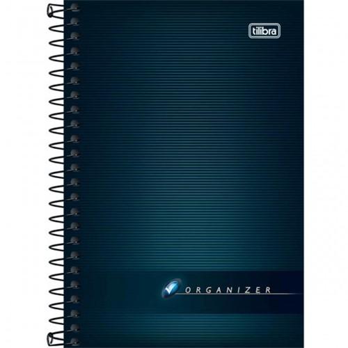 Caderneta Espiral Capa Flexível Organizer 96 Folhas 114014