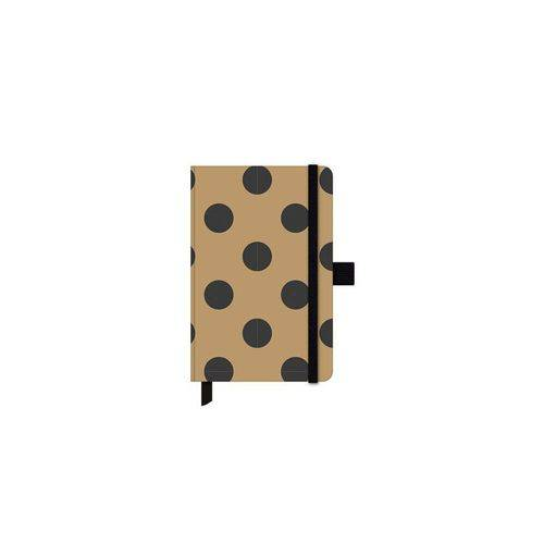 Caderneta Ótima Papertalk Gold&kraft Mini Dourado 80fls 92x137mm 25579