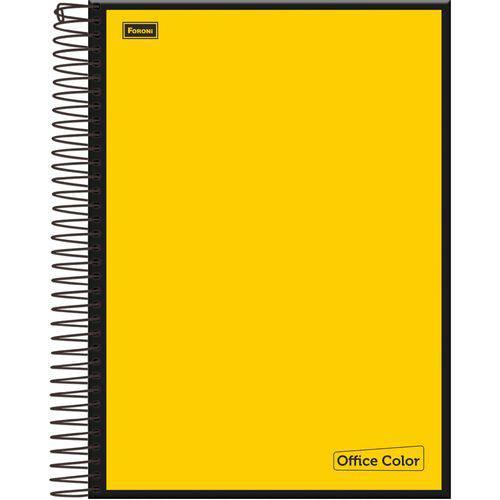 Caderno 01x1 Capa Dura 2018 Office Color 96 Folhas Foroni Pc