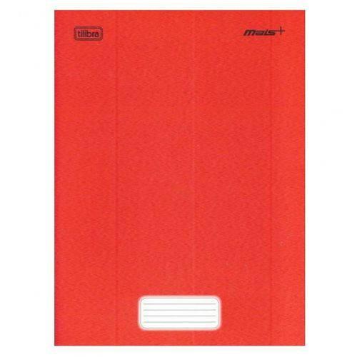 Caderno Brochura Capa Dura Pequeno Vermelho 48 Fls.-Tilibra