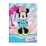 Caderno 1/4 Brochura Minnie - Espantada - 96 Folhas - Tilibra