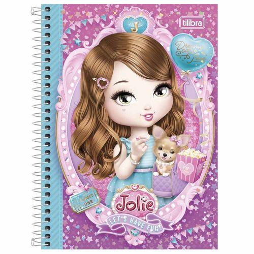 Caderno 1/4 Jolie 96 Folhas Tilibra 994360