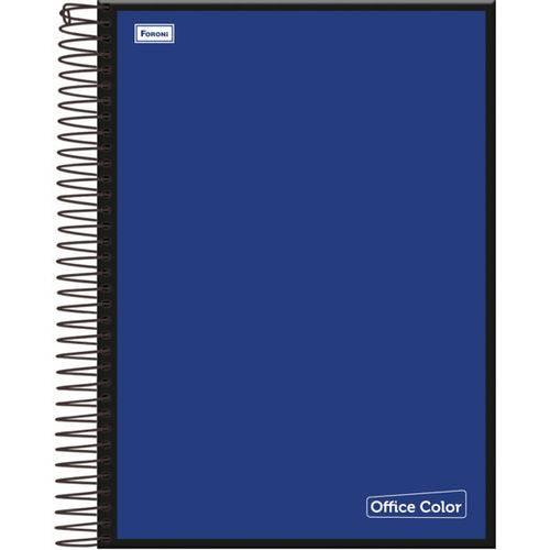 Caderno 1 Matéria Capa Dura 2017 Office Color 96 Folhas Pct.C/04 Foroni