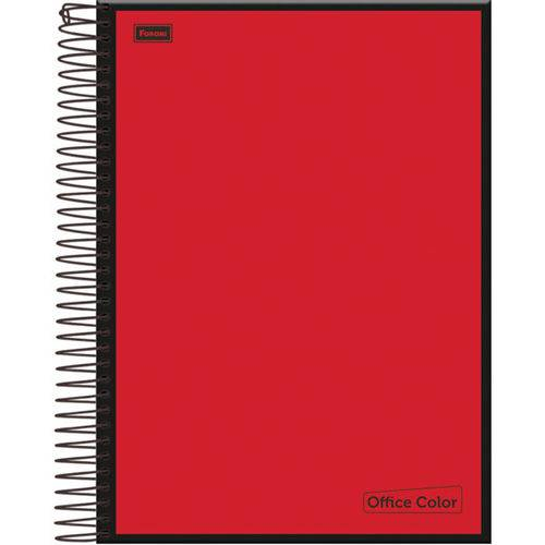 Caderno 10 Matérias Capa Dura 2017 Office Color 200 Folhas Pct.C/04 Foroni