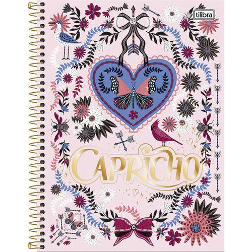 Caderno 16x1 2018 (capa Dura) Capricho 320 Folhas Tilibra