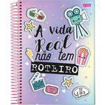Caderno 1x1 Capa Dura 2019 It Girl 96 Folhas