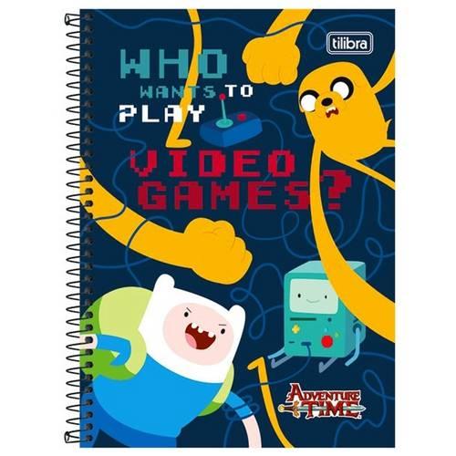 Caderno Adventure Time (200f) 10x1 Capas Sortidas - Tilibra
