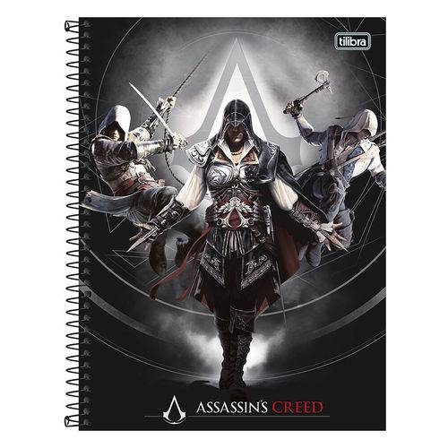 Caderno Assassins Creed - Evolution - 1 Matéria - Tilibra