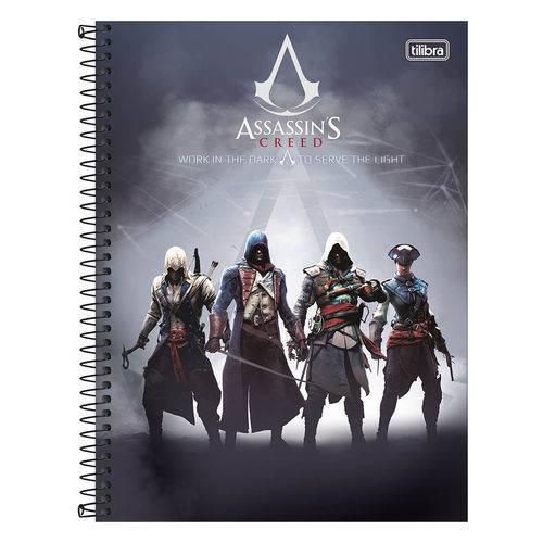 Caderno Assassins Creed - Work In The Dark - 1 Matéria - Tilibra