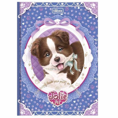 Caderno Brochura 1/4 Jolie Pet 96 Folhas Tilibra 1006549