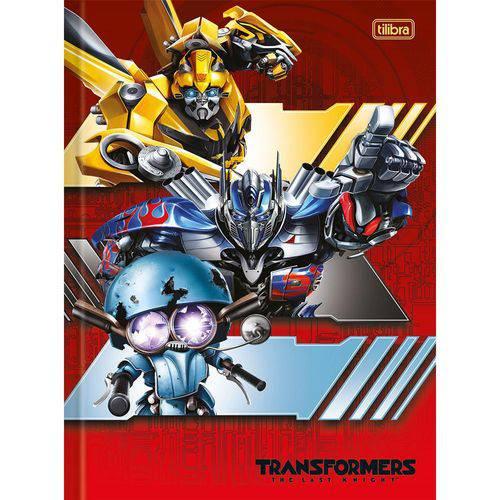 Caderno Brochura 1/4 Transformes 96 Folhas - Tilibra