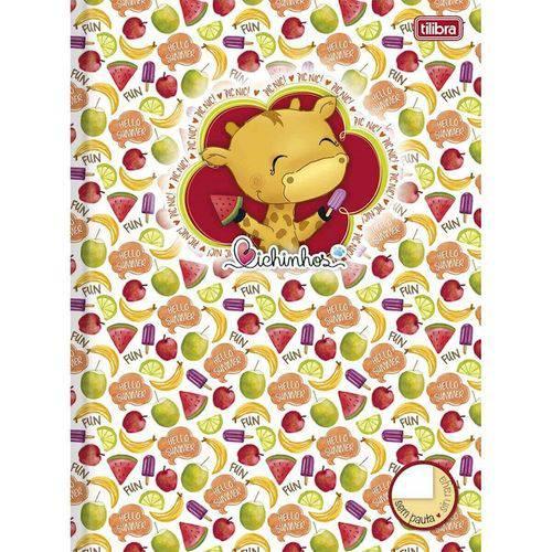 Caderno Brochura Bichinhos com 96 Folhas Tilibra