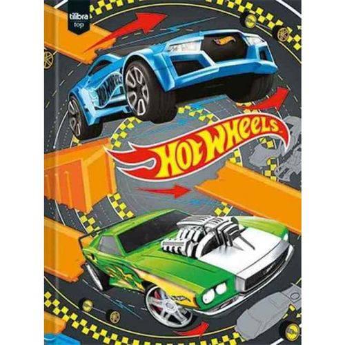 Caderno Brochura C/D 96 Folhas Hot Wheels Tilibra
