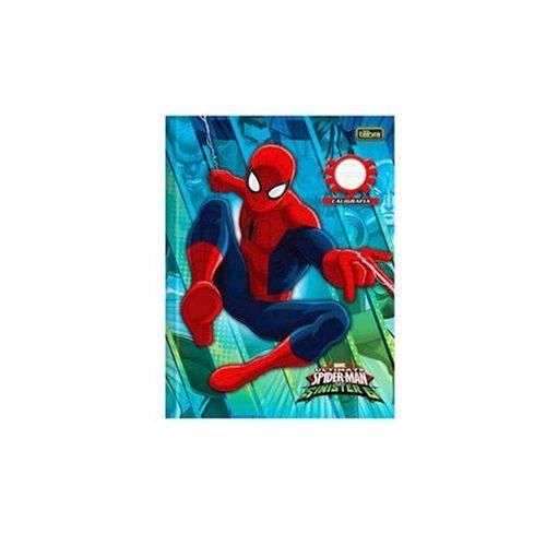 Caderno Brochura Caligrafia Spider Man 40 Folhas Tilibra