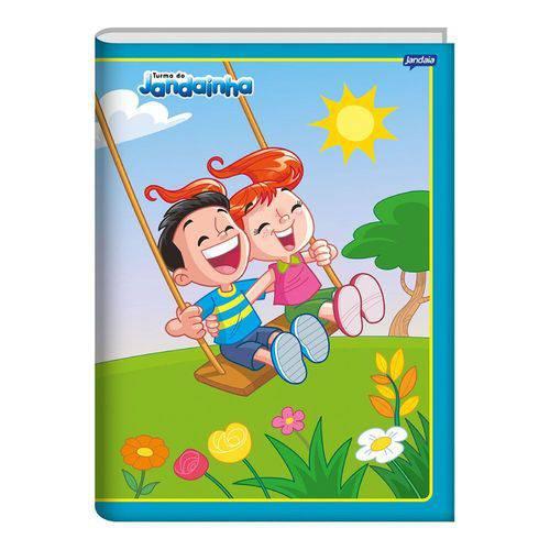 Caderno Brochura Capa Dura 1/4 96 Folhas Jandainha Balanço Jandaia