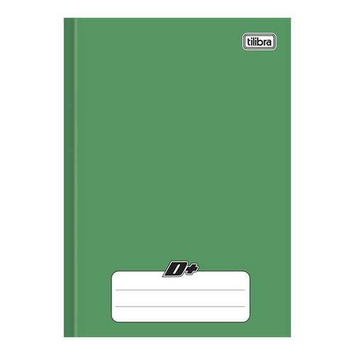 Caderno Brochura Capa Dura 1/4 D+ 48 Folhas Verde 5 Unidades Tilibra