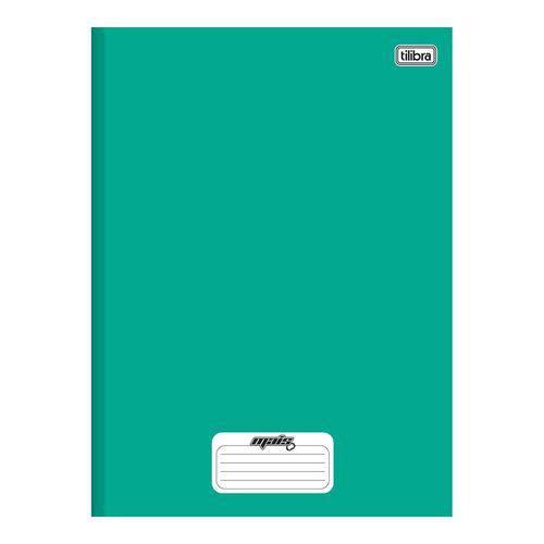 Caderno Brochura Capa Dura 1/4 D+ 96 Folhas Verde 5 Unidades Tilibra