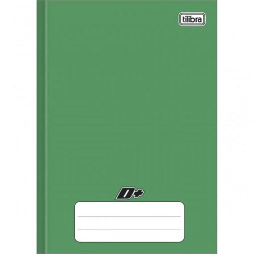 Caderno Brochura Capa Dura 1/4 D+ Verde 96 Folhas 116718