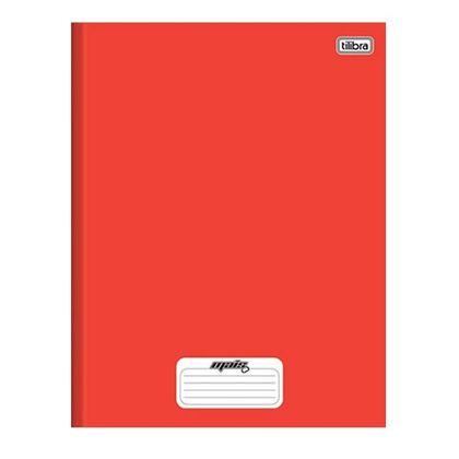 Caderno Brochura Capa Dura 1/4 D+ Vermelho 48 Folhas - Tilibra Tilibra