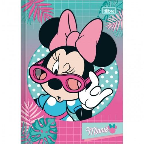 Caderno Brochura Capa Dura 1/4 Minnie 48 Folhas - Sortido (Pacote com 5 Unidades)