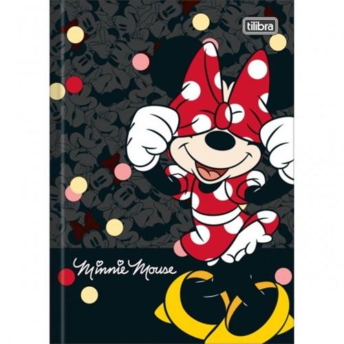 Caderno Brochura Capa Dura 1/4 Minnie 80 Folhas (Pacote com 5 Unidades) - Sortido