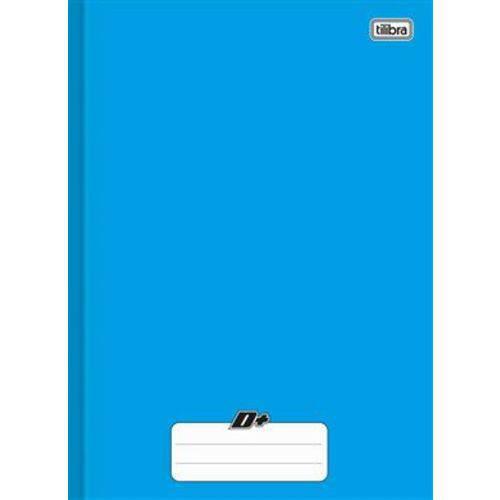 Caderno Brochura Capa Dura 1materia 96f D+azul 1678 C/5