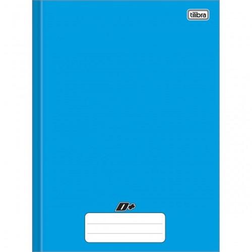 Caderno Brochura Capa Dura Universitário D+ Azul 48 Folhas 116742
