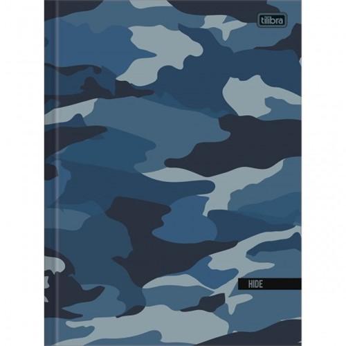 Caderno Brochura Capa Dura Universitário Hide 80 Folhas - Sortido (Pacote com 5 Unidades)