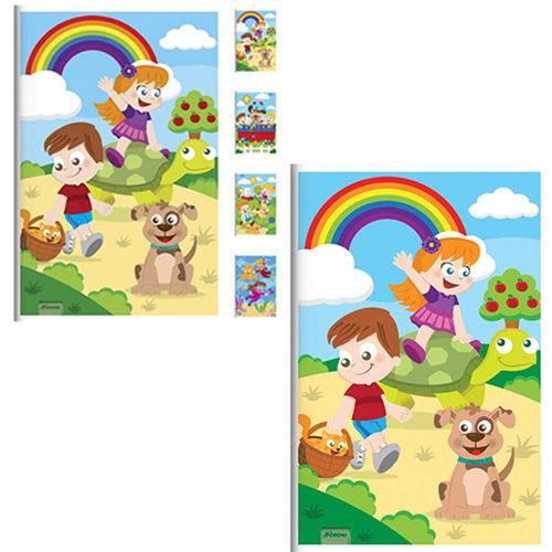 Caderno Brochura Criancas 80 Folhas