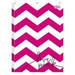 Caderno Brochura Love Pink - Zig Zag Rosa - 96 Folhas - Tilibra