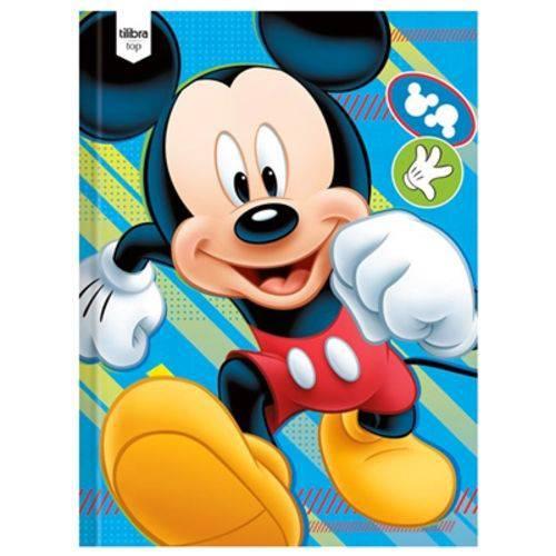Caderno Brochura Mickey Top 96 Folhas - Tilibra