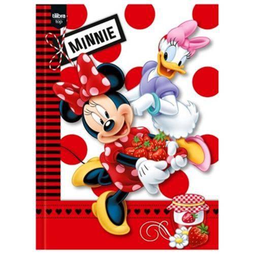 Caderno Brochura Minnie Top 96 Folhas - Tilibra