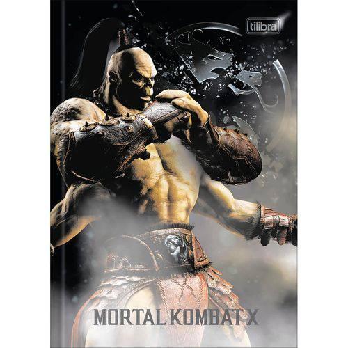 Caderno Brochura Mortal Kombat 1x1 - 80 Folhas - Tilibra