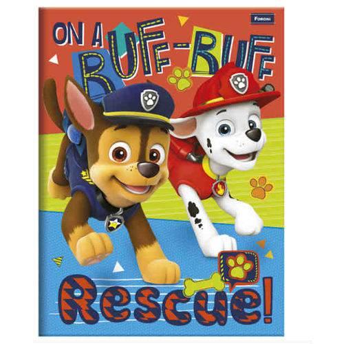 Caderno Brochura Patrulha Canina 96 Folhas Foroni