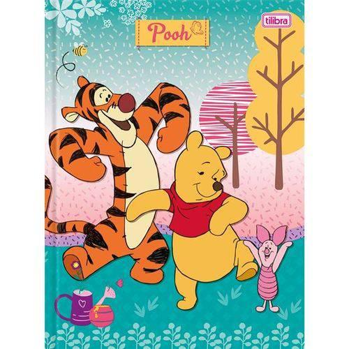 Caderno Brochura Pooh 96 Folhas - Tilibra