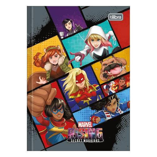 Caderno Brochura Rising Secret Warriors - Quadrinhos - Tilibra