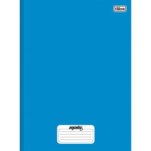 Caderno Brochura Tilibra Mais Azul Capa Dura 1/4 - 96 Folhas