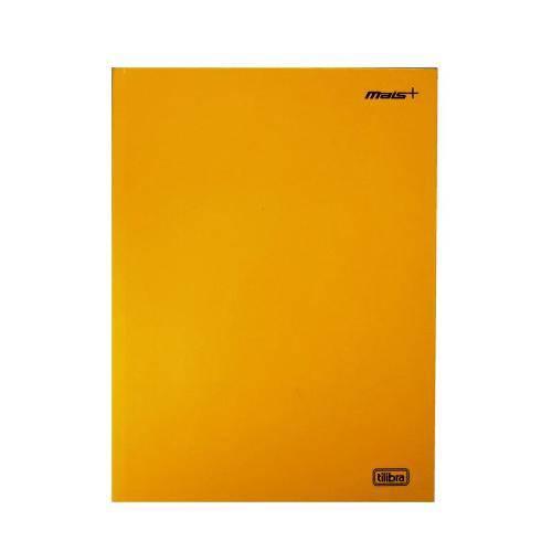 Caderno Brochura Universitário 96 Folhas Capa Dura Mais+ Amarelo Tilibra 116807