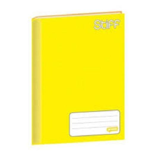Caderno Brochurão 48f CD 00057 Stiff Amarelo Jandaia