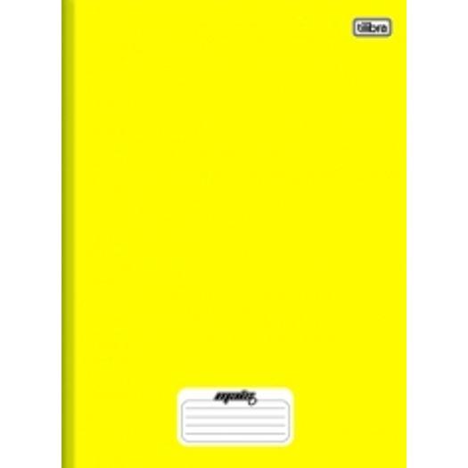 Caderno Brochurão 48f CD 116769 Amarelo Mais+ Tilibra