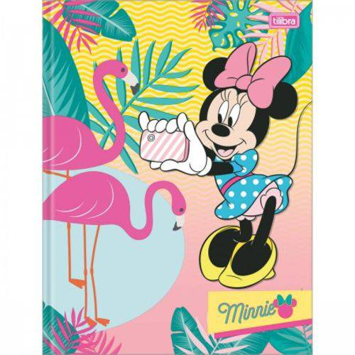 Caderno Brochurao C/D 96 Folhas Minnie Mouse Tilibra