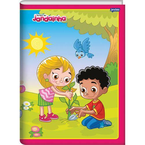 Caderno Brochura Pequeno C Dura Jandainha Menina 96 Fls. Jandaia Pct.C/05
