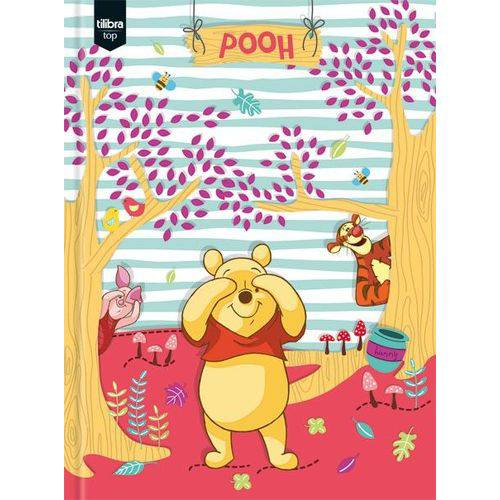 Caderno Brochurão Capa Dura 96 Folhas Tilibra Pooh